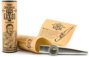 Gewa kazoo in metallo