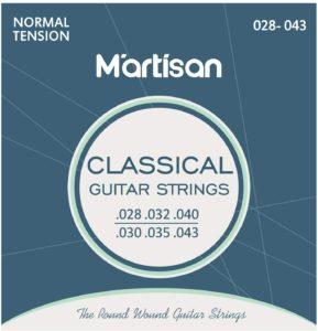 Martisan- corde chitarra classica nylon