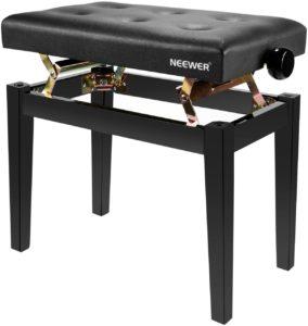 Neewer NW-009- sgabello per pianoforte robusto