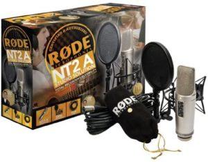Rode NT2-A- microfono a condensatore a doppio diaframma largo