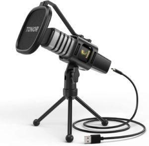 Tonor- microfono a condensatore USB economico