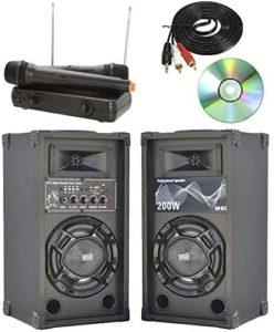 Shard-lab- casse attive per karaoke