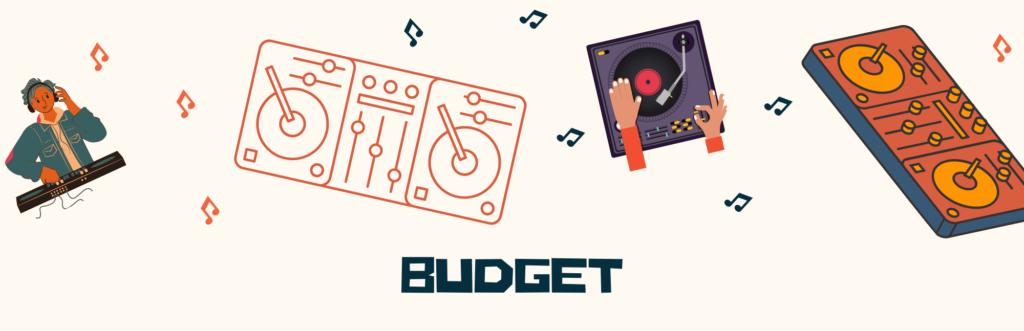 console dj budget