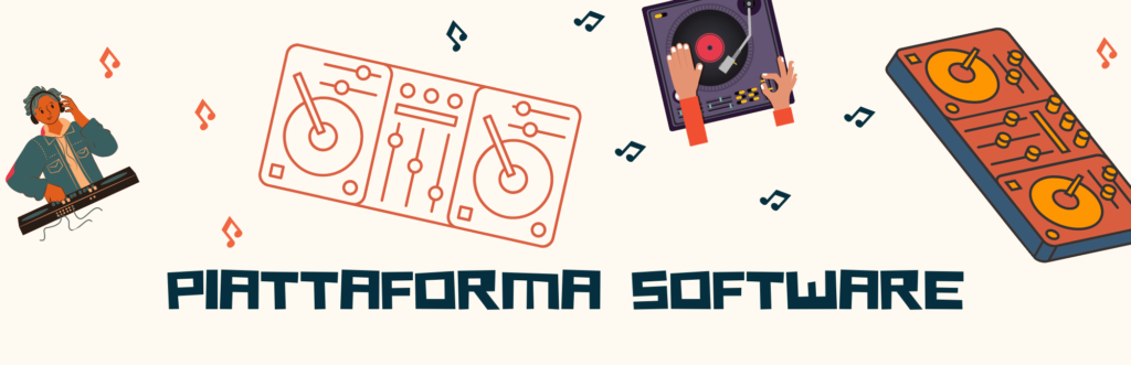 console dj piattaforma software