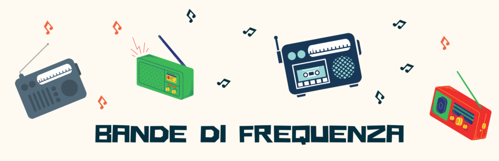 radio portatile Bande di frequenza