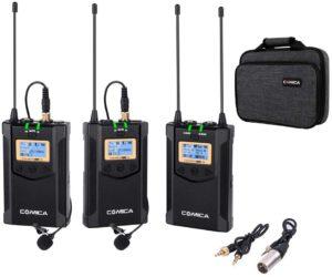 Comica CVM-WM100 Plus: doppio lavalier wireless