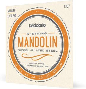 D'Addario EJ67: set per mandolino