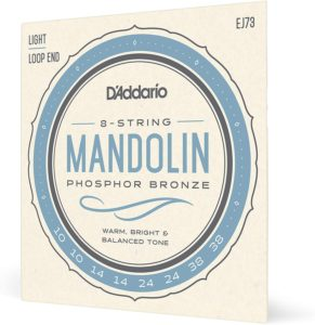 D'Addario EJ73: corde per mandolino tensione bassa