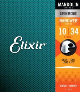 Elixir: corde per mandolino in bronzo