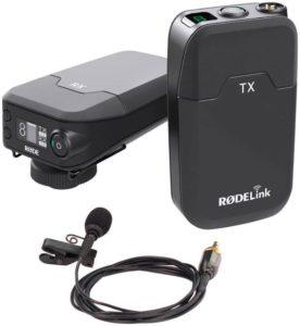 Rode Rodelink: microfono lavalier con trasmettitore